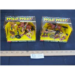 Wild West Hand Painted Figurines