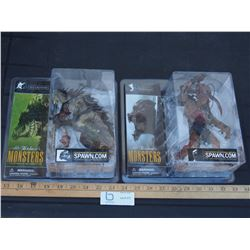 Mcfarlane's Toy Monster Figurines (New in Box)