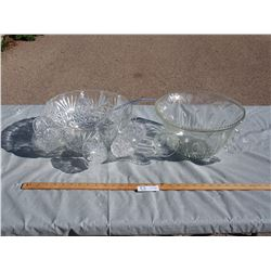 2X THE MONEY - Punch Bowl Sets (1 Only has 2 Cups)