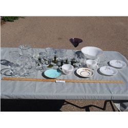 Mixed lot of Kitchenware Glass