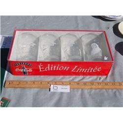 Limited Edition Coca Cola Glasses (with Original Box)