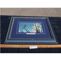 """Robert Bateman 1984 Picture in Frame 19.75 by 17.5"""""""