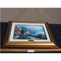 """Oil Painting in Frame 23.75 by 19.75"""""""
