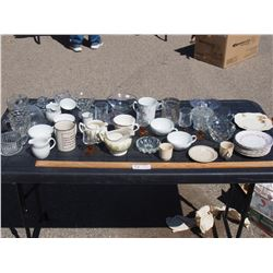 Misc Lot of Dishware