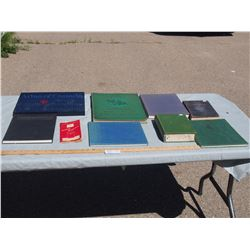 Lot of Misc Books, Atlas, Fire Fighting and etc.