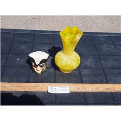Tobey Mug and Decorative Vase