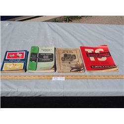 Vintage Books and Manuals