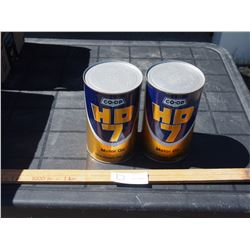 2X THE MONEY - Coop HD7 SAE 30 Oil Containers