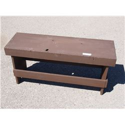 """Wooden Bench 40 by 19"""""""
