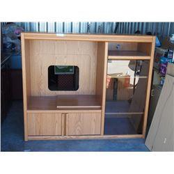 """Entertainment Center 54"""" W by 27"""" D by 46.5"""" T"""