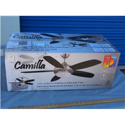 Camilla 52 Ceiling Fan N.I.B