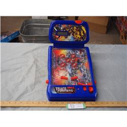 "Transformers Table Top Game 9 by 13.5"" (Battery Powered, Light Up, WORKING) 2009"