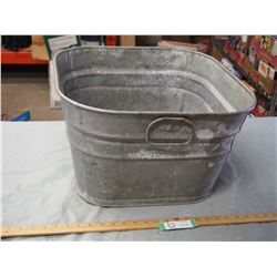 GSW Wash Tub Galvanized