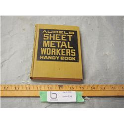 Audels Sheet Metal Workers Handy Book (1940-1950s)