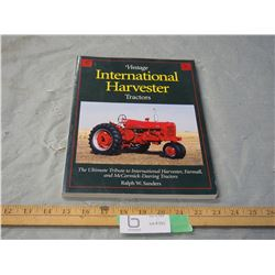 Vintage International Harvester Tractors Book