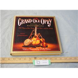 1995 The Grand Ole Opry Hard Cover Book