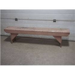 Wooden Bench 6ft L