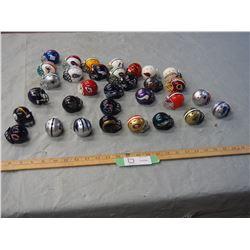 32 2012 Mini Football Helmet Collection