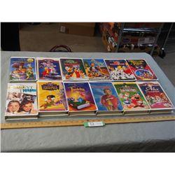 12 Kids Movies (Disney)