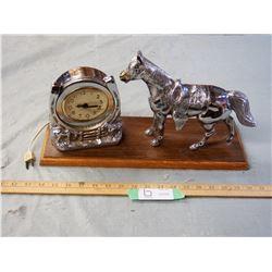 Vintage Horse Clock (working)