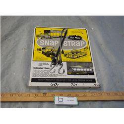 Snap Strap Metal Display Rack
