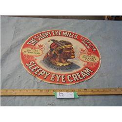 "Vintage Barrel Decal (Label) 16"" in Diameter"