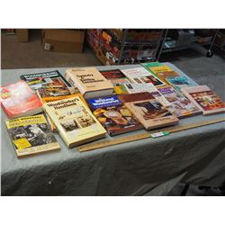 Woodworking Books plus Misc Books