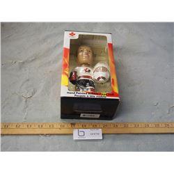 N.I.B Hand Painted Bobble Head Doll 2002