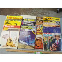 Hank Williams SR Records