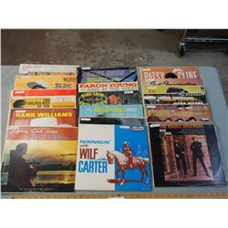 18 Different Country Western Records