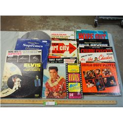 14 Rock and Roll Records (1 Missing Cover)