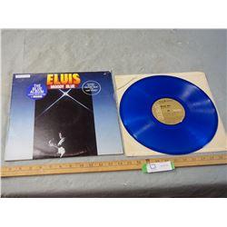 1 Elvis Blue Vinyl Record
