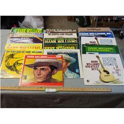 16 Hank Williams SR Records