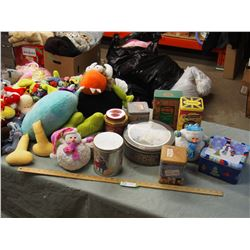 Box Of Collector Tins Stuff Toys Bag Full