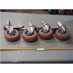 4 Scaffold Wheels