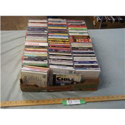 120+ Misc CD's (Christmas, Country, Celtic and etc.)
