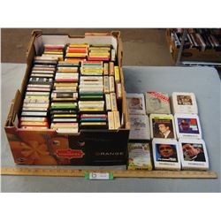 75+ Misc 8 Tracks (Country)