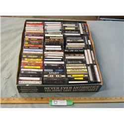 75+ Misc Cassettes (Country and Rock)