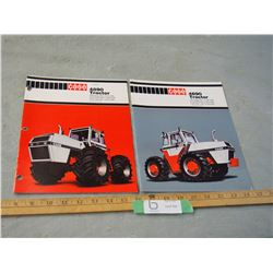 2 Case 1970's Four Wheel Drive Tractor Brochures