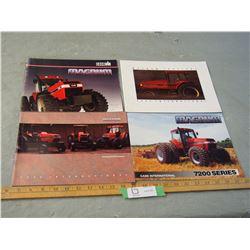 4 Case IH 1980's Tractor Brochures
