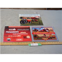 3 Case IH 1987, 1988, and 1989 Farmers Catalogs