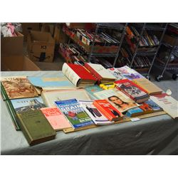 Misc Books (Cooking, War, Nature and etc.)