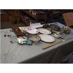 Misc Lot of Silverware, Kitchenware and Misc