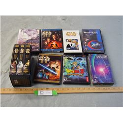 Star Wars DVDs, VHS and etc.