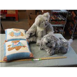 Handmade Pillows and Stuffed Animals