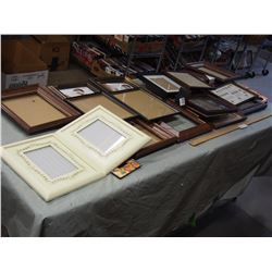 Big Lot of Picture Frames