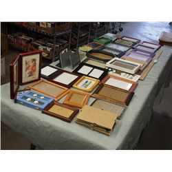 Big Lot of Smaller Picture Frames