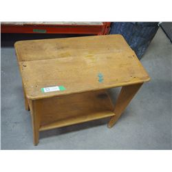 """Little Wooden Table 25x15x22"""" T"""