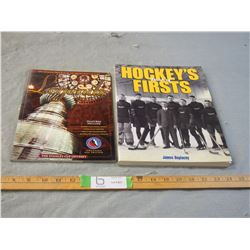 Hockey's Book Of Firsts and Legends Hockey Books