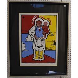 APACHE INDIAN PRINT (DOUGLAS MILES)